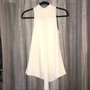 Proenza Schouler White & Flirty Asymmetrical Top!